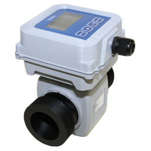New Plastic Compact Magnetic Flow Meter for Sewage with 4-20 Ma Output pictures & photos