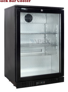 Single Glass Door Back Bar Display Cooler pictures & photos