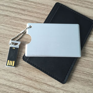 Matel Credit Card Advertising and Gift USB Flash Drive with a Huge Memory Capacity (YT-3109-02) pictures & photos