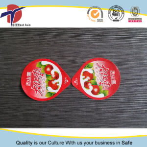 Heat Seal Aluminum Foil Lid for PP Yogurt/Dairy Cup pictures & photos
