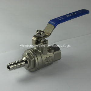 Ts Stainless Steel Female Thread 2 Pieces Nature Gas Ball Valve pictures & photos