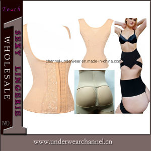 Sexy Woman Best Slimming Vest Corset Shapewear (TLQ7053) pictures & photos
