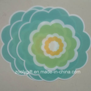 Die-Cut Flower Shaped PP Table Mat PP Coaster pictures & photos
