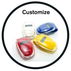 Digital Clip Pedometer with Logo pictures & photos