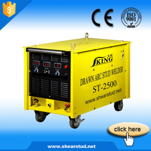 Iking Drawn Arc Stud Welding Machine pictures & photos