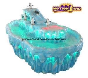 Ice Age Amusement Park Equipment- Sand Motion Sand Display Table