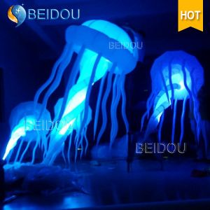 Wholesale Event Stage Wedding Party Decoration Colorful Lighted Inflatable Jellyfish pictures & photos