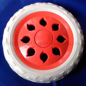 Plastic Wheels EVA Foam Wheels for Shopping Cart & Trolley Bicycle pictures & photos