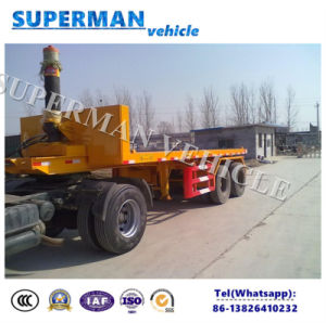 20FT Flatbed Container Front Lifting Tipper Dumper Trailer pictures & photos