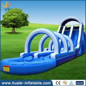 PVC Inflatable Water Park/Used Inflatable Water Slide with Pool pictures & photos