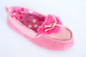 Loafer Shoes with Gross Grain Bow pictures & photos