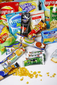 Vacuum Metalized Pet Film for Cookie Packing / Cookie Bags / Cookie Wrapping Bag