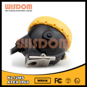 China Promotional LED Miners Cap Lamp, Mining Headlamp Kl12ms pictures & photos