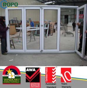 UPVC Sliding Folding Doors Plastic Doors pictures & photos