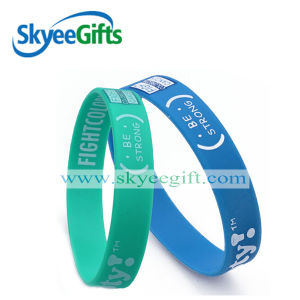 The Eco-Friendly Silicone Bracelet Made in China pictures & photos