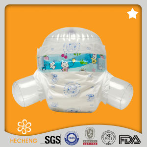 Economic Disposable Baby Diaper with Cute Printed Wholesale pictures & photos
