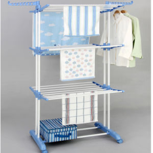 Three Layer Clothes Drying Rack pictures & photos