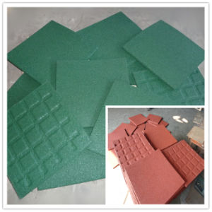 Outdoor Playground Rubber Tiles, Rubber Horse Stable Tile Flooring pictures & photos