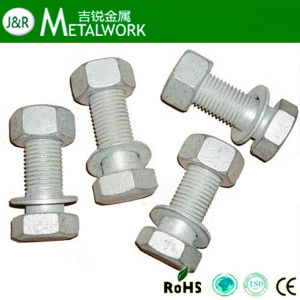Hot DIP Galvanized Hex Bolt (DIN933, DIN931) pictures & photos