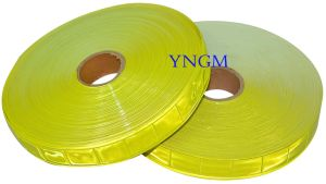 Reflective Lattice Tape for Reflective Vest/Safety Clothes pictures & photos