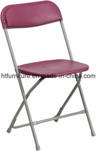 Lightweight Burgundy Event Folding Chair pictures & photos