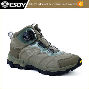 Army Military Tactical Assault Boots Sports Hiking Shoes pictures & photos