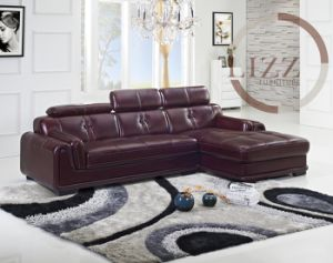 Popular Furniture Modern Living Room Leather Sofa in Sofa L. P2168 pictures & photos