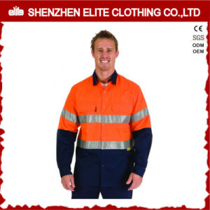 ANSI Wholesale High Visibility Long Sleeve Reflective Shirt pictures & photos