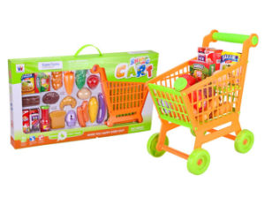 Plastic Shopping Cart Kids Toy (H0844036) pictures & photos