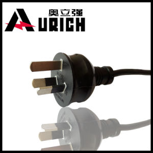 Australia 2pins Power Cord SAA Approved for Plug pictures & photos