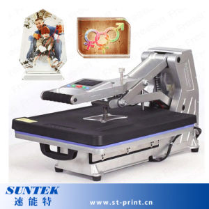 220V Digital Manual T-Shirt Heat Press Machine with Drawer pictures & photos