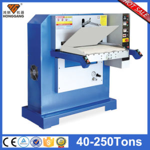 Hot Sale Plane Hydraulic Leather Handbag Press Embossing Machine (hg-e120t) pictures & photos