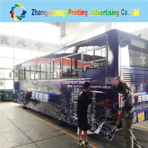 Good Quality Self-Adhesive PVC Film Plastic Cover Bus Sticker pictures & photos