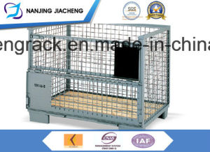 Warehouse Power Coated Stacking Container Pallet pictures & photos