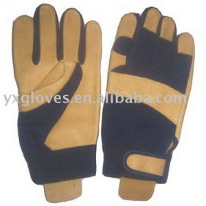 Work Glove-Labor Glove-Leather Working Glove-Safety Glove pictures & photos