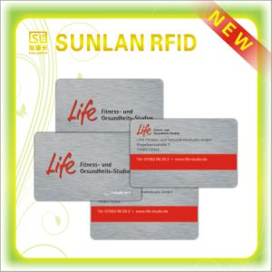 RFID Smart Card with Programmable Hico Magnetic Stripe pictures & photos