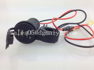 Motorcycle USB Charger with Indicator for Phone with Bracket pictures & photos
