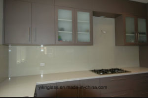 Tempered Glass Backsplash for Kitchen Wall pictures & photos