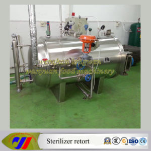 Autoclave Sterilizer Retort with Automatic Pressure and Temperature Control pictures & photos