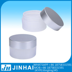 (T) 50ml Ordinary Round Shape Cosmetic Jar pictures & photos