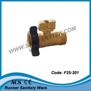Garden Hose Connector with Shut-off Valve (F25-301) pictures & photos