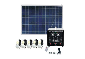 40W Solar Home System for Indoor Lighting Fs-S203