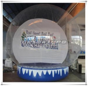 Hot Sale in Christmas Season Inflatable Snow Globe for Decoration