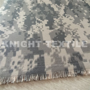 1000d Polyester Cordura Digital Camouflage Printing for Bag (KPCOR1000-28)