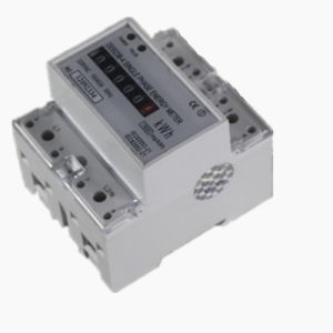 Single-Phase Electronic DIN-Rail Active Energy Meter with RS485 Communication pictures & photos
