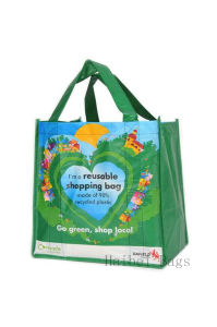 Heavy-Duty Large RPET Shopping Bag (hbrp-8) pictures & photos
