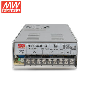 Meanwell 12V 350W Nes-350-12 AC to DC LED Power Supply Driver pictures & photos