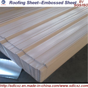 0.14*900/780*3000mm Sea Blue Prepainted Corrugated Steel Roofing Sheet pictures & photos