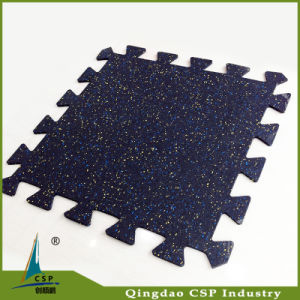Good Quality Gym Interlock Rubber Mat with Low Price pictures & photos