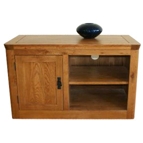 Solid Wood Oak Furniture-1 Door TV Cabinet